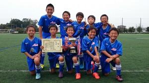 U10優勝:笠原サッカースポーツ少年団