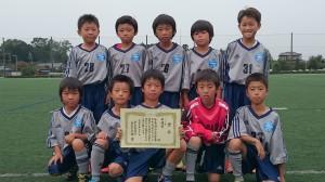 U10敢闘賞:双葉台サッカースポーツ少年団
