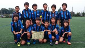 U10準優勝:新荘常磐サッカースポーツ少年団