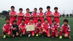 U10第三位:吉田サッカースポーツ少年団