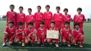 U12敢闘賞:城東サッカースポーツ少年団