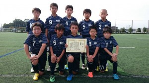 U12準優勝:水戸サッカースポーツ少年団