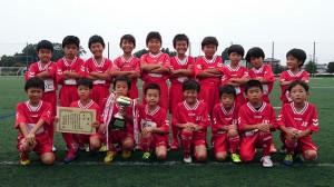 U9優勝:城東サッカースポーツ少年団A