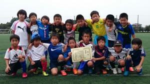 U9敢闘賞:内原サッカースポーツ少年団