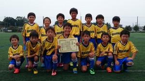 U9準優勝:笠原サッカースポーツ少年団