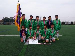 U11優勝:笠原サッカースポーツ少年団