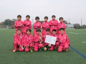 U11準優勝:緑岡サッカースポーツ少年団