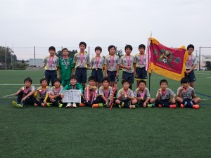 U12優勝:FCリリー