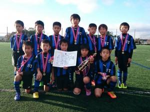 U9準優勝:新荘常磐サッカースポーツ少年団