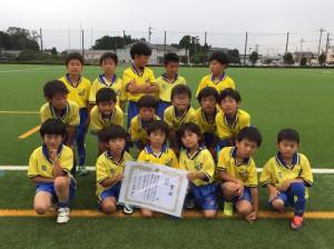 U9準優勝 水戸SSS